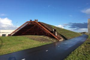 ARC17 Detail: Uitkijkdijk Lauwersoog – Vector-i architecten
