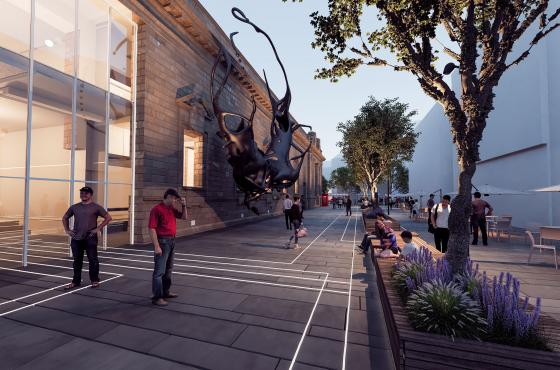 Mecanoo_transformatie stadhuis Perth Schotland