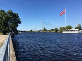Zomerfoto: Infrastructuur in Riga