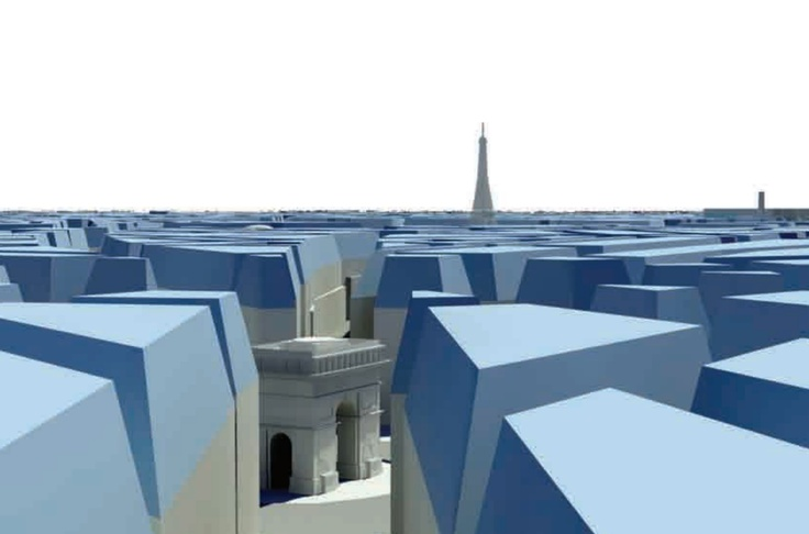 Still uit de Grand Paris presentatie van MVRDV