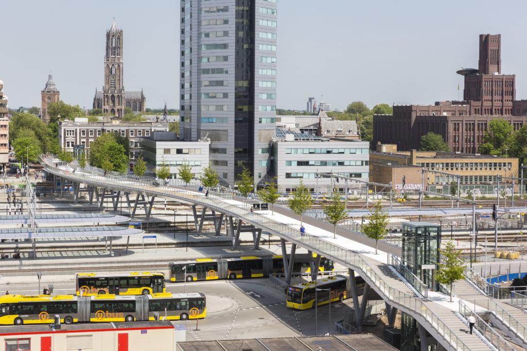 Moreelsebrug in Utrecht door Cepezed, foto Lucas van der Wee