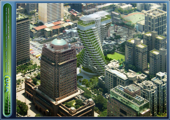Vincent Callebaut Twisted Tower Taipei