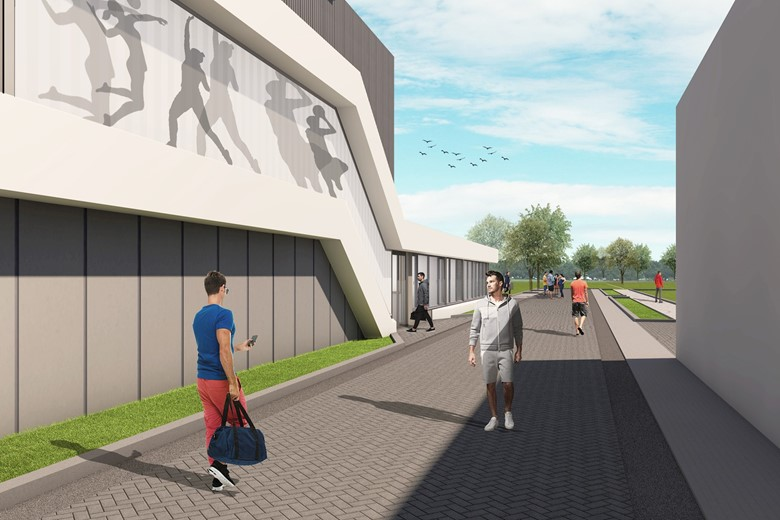 Sportaccommodatie Reijerpark Ridderkerk LIAG Architecten