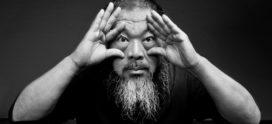 Ai Weiwei topper op Amsterdam Light Festival