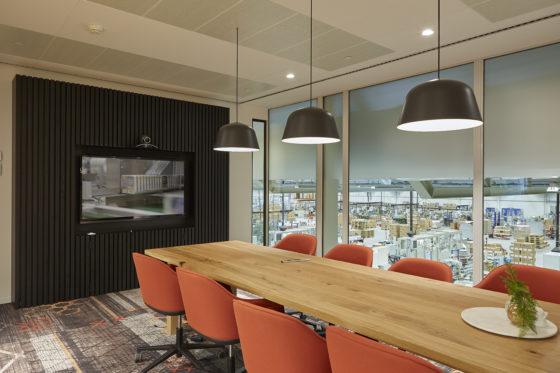 Agio conferentieroom met zicht op productie bo2 architectuur en stedenbouw 560x373