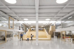 ARC17 Detail: MAAKLAB open innovatieruimte – dmva-architecten