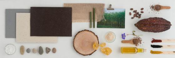 Alle-natuurlijke-ingredienten-van-het-nieuwe-Marmoleum-Cocoa-van-Forbo-Flooring-op-een-rijtje