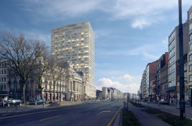 Bouwstart transformatie Toren van Antwerpen door Wiel Arets Architects