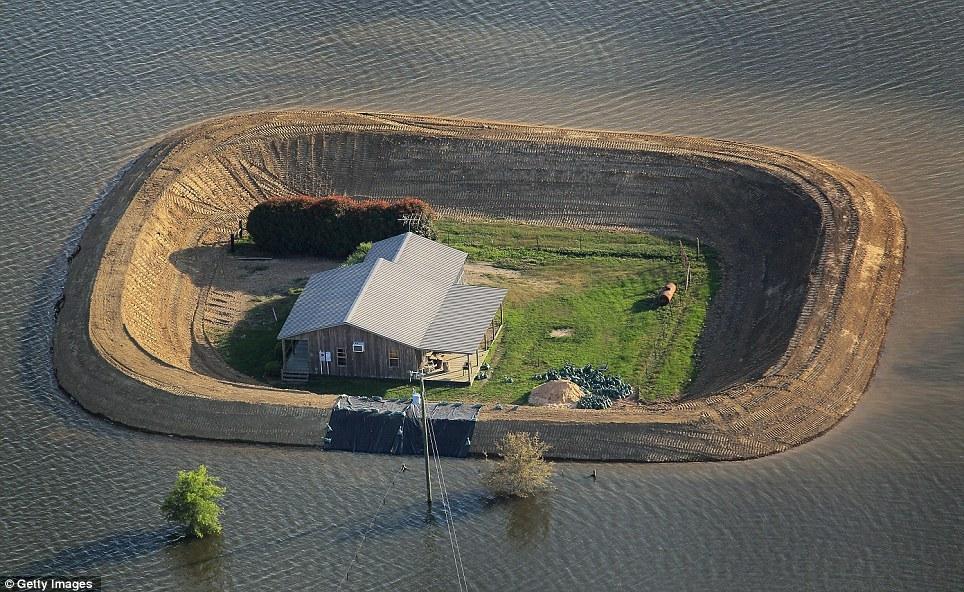 Jeroen Apers Overstromingen Missisipi 2011