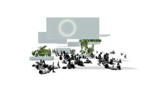 ARC17 Interieur: CIRCL Circulair Paviljoen ABN AMRO – DoepelStrijkers