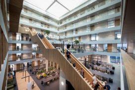 Gebouw Hogeschool Rotterdam geopend