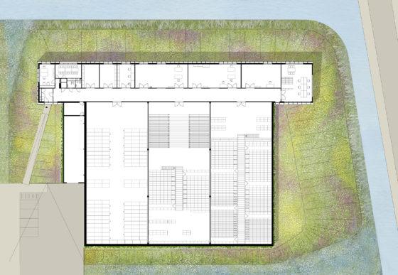 Levs collectiecentrum friesland14   plattegrond 560x387