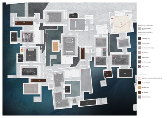 Louvre abu dhabi permanent galleries floor finishes %c2%a9 ateliers jean nouvel 560x396