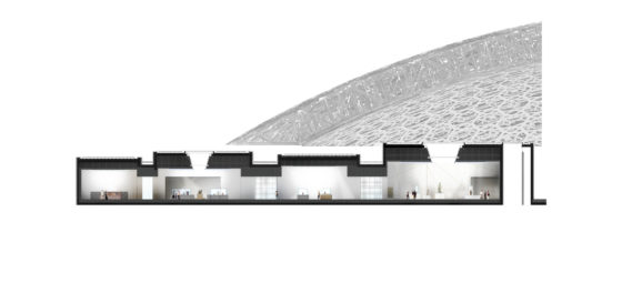 Louvre abu dhabi permanent galleries section wing 1 %c2%a9 ateliers jean nouvel 560x264