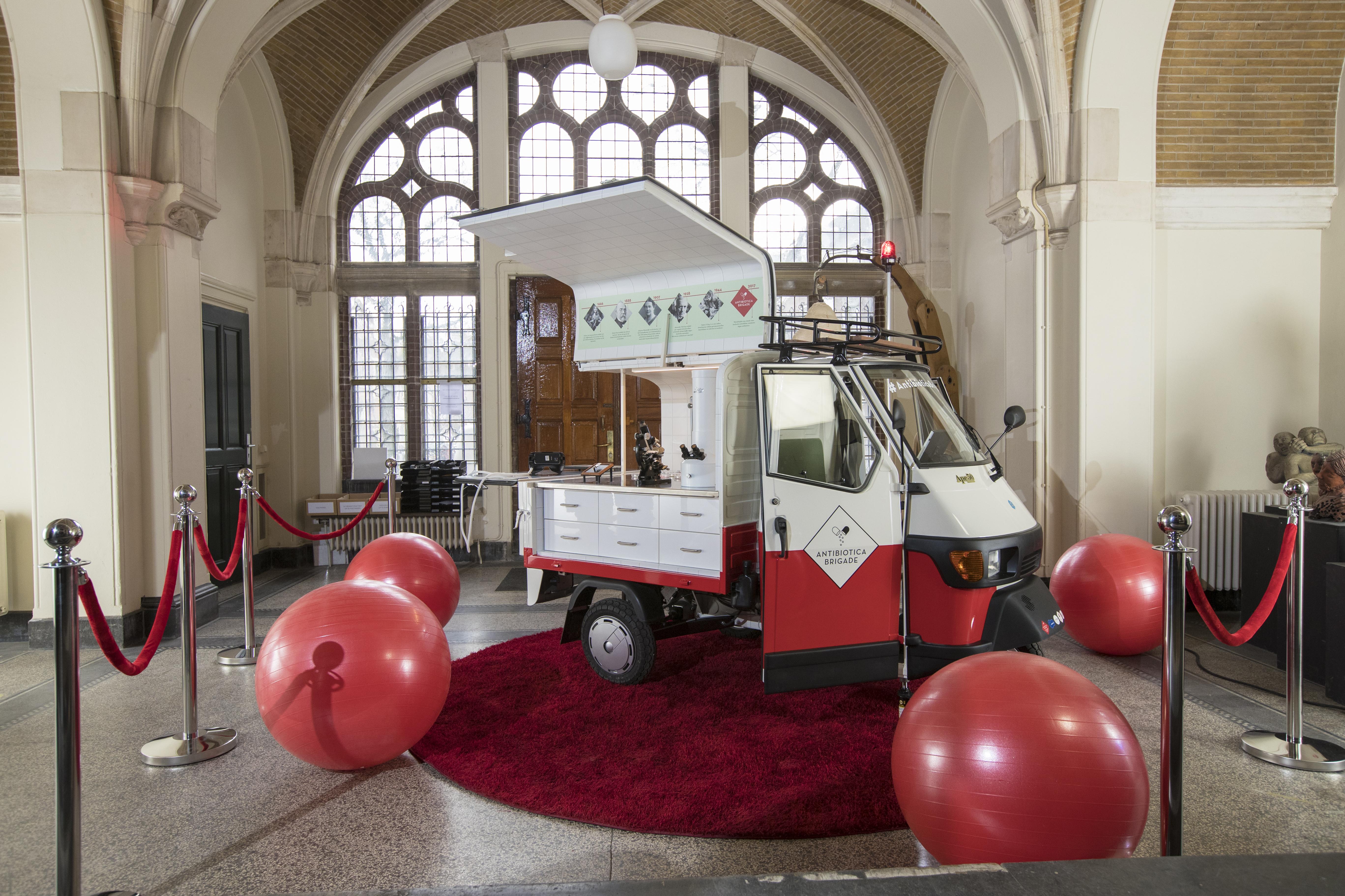 Opening van de Antibiotica Brigade Museum Boerhaave De Antibioticar. Foto: Hielco Kuipers