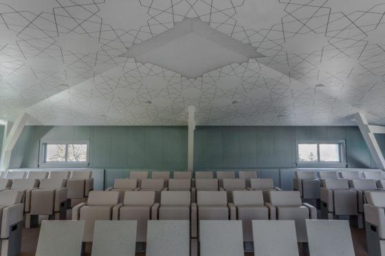Saudi cultural bureau gehoorzaal 01 aaarchitects 560x373