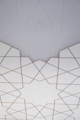Saudi cultural bureau gehoorzaal plafond detail aaarchitects 280x420