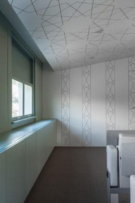 Saudi cultural bureau gehoorzaal plafond en wandpanelen aaarchitects 280x420