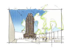 Schalkwijk Haarlem krijgt appartementengebouw en een woontoren