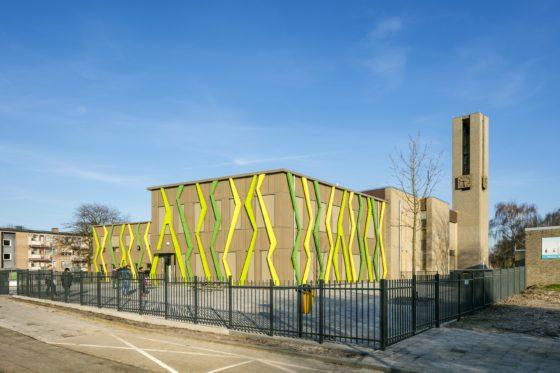 Schoolgebouw en wijkcentrum de twister verheijen smeets architecten3 560x373