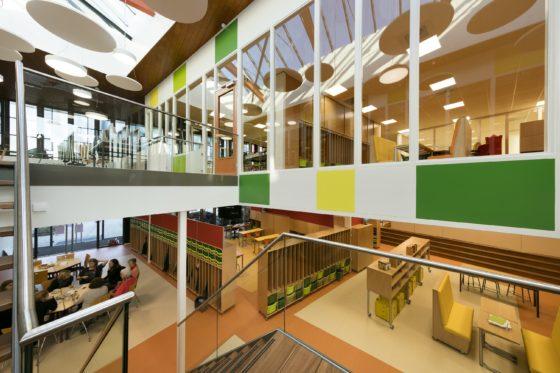 Schoolgebouw en wijkcentrum de twister verheijen smeets architecten7 560x373