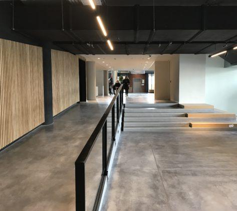 Studio linse verbinding gaderobe met entree 473x420