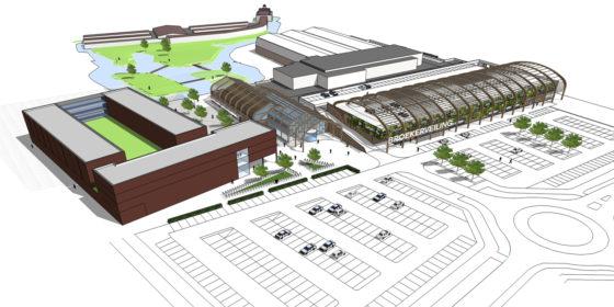 Tekeningen uitbreiding winkelcentrum langedijk svp architectuur en stedenbouw 1 560x280