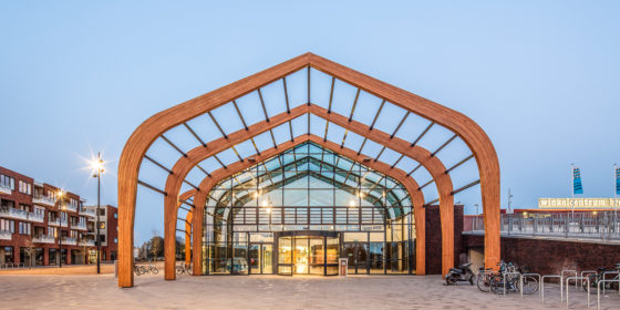 Uitbreiding winkelcentrum langedijk svp architectuur en stedenbouw 2 560x280