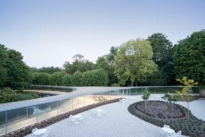 Nominatie ARC17 Detail: Bezoekerspaviljoen Park Vijversburg – STUDIO MAKS & Junya Ishigami + Ass.