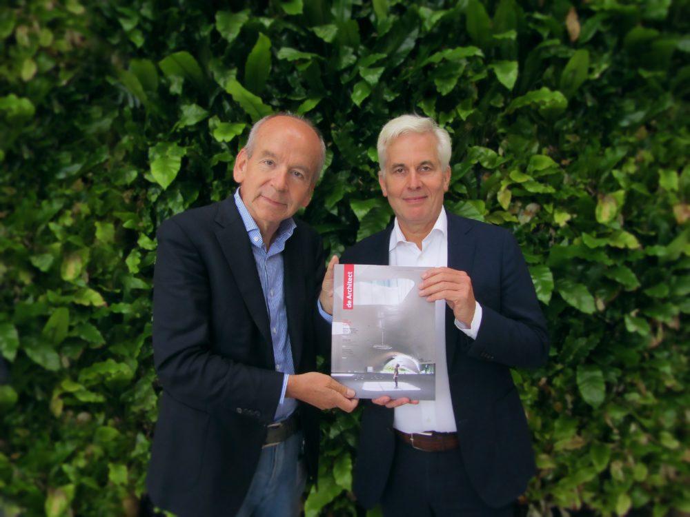 Geheel vernieuwde magazine de Architect is uit!