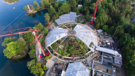 Renovatie Koepel Aqua Mundo Center Parcs