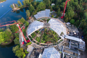 Renovatie Koepel Aqua Mundo Center Parcs