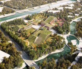 MVRDV wint wedstrijd Zhangjian Future Park in Pudong, Shanghai