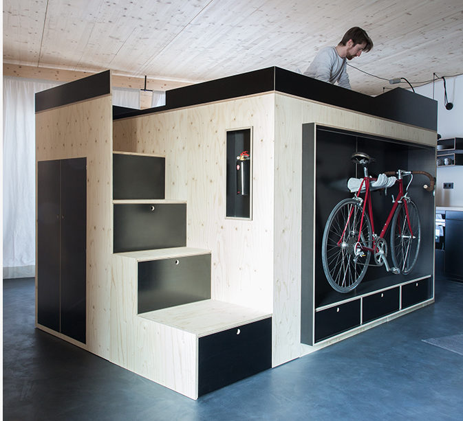 Blog oostenrijkse kubus als woninguitbreiding de architect - Kubus interieurs ...