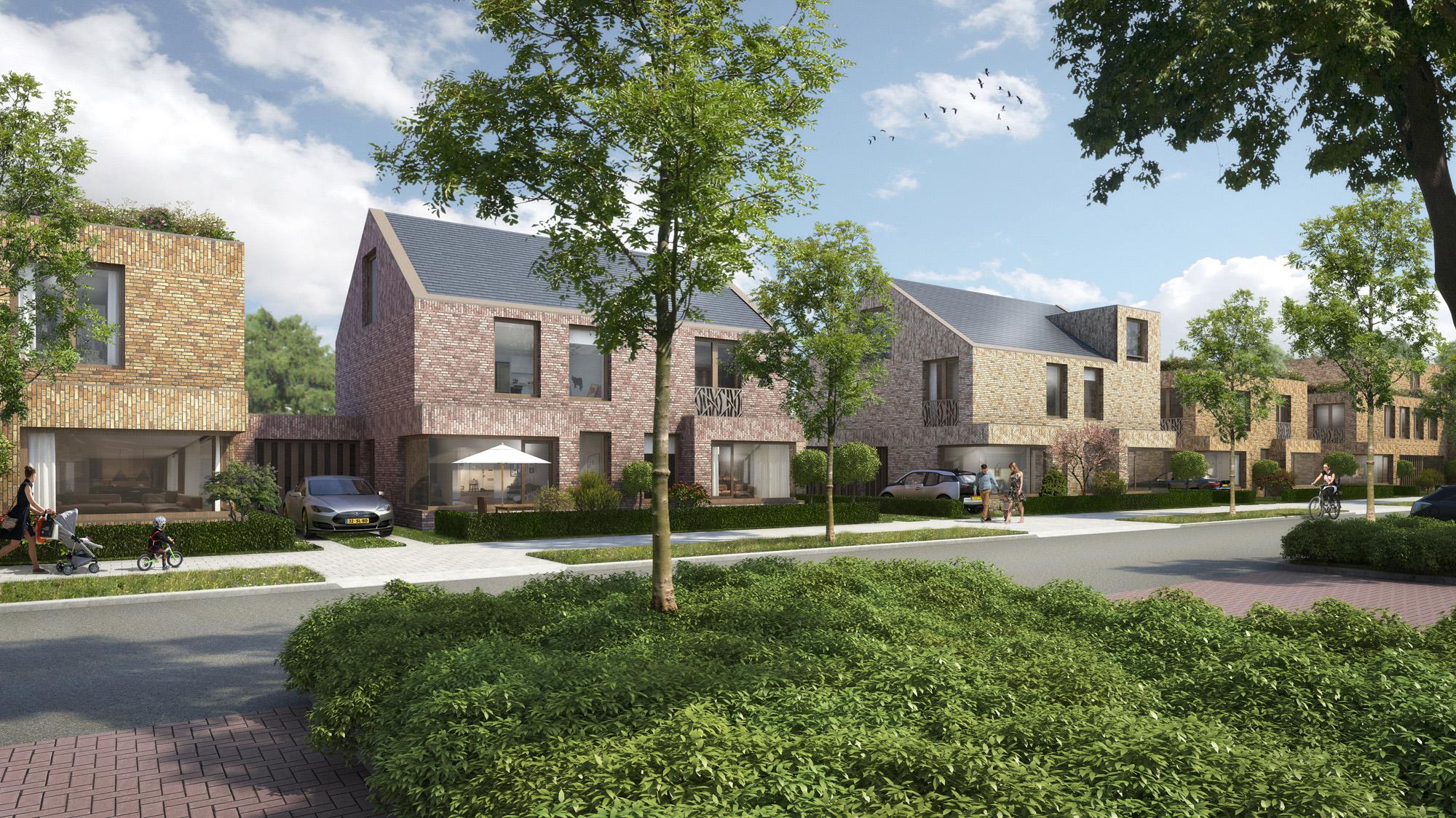 Groene woningen als sluitstuk alphen aan de rijn de architect - Stad geschakelde ...