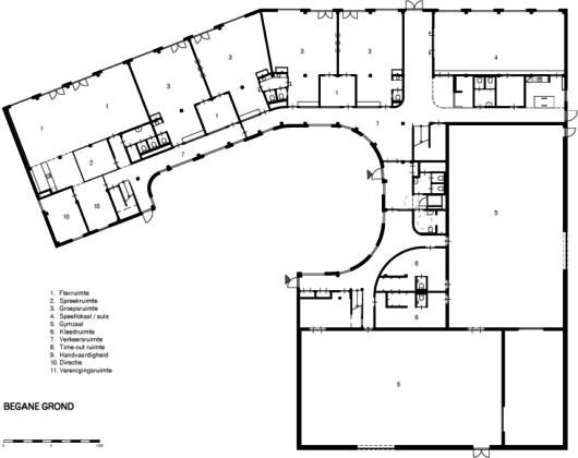 Tekening integraal kindcentrum de bollenstreek broekbakema1 530x420