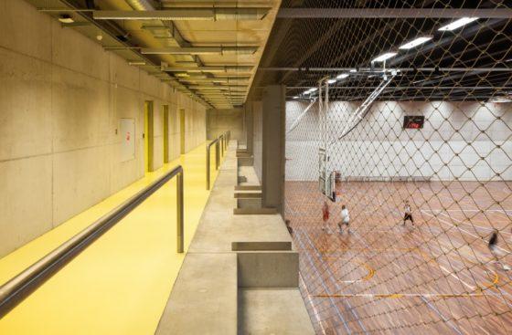 Topsportschool antwerpen tss %e2%80%93 compagnie o architecten foto timvandevelde 7 560x367