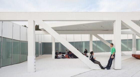 Topsportschool antwerpen tss %e2%80%93 compagnie o architecten foto timvandevelde 9 560x310