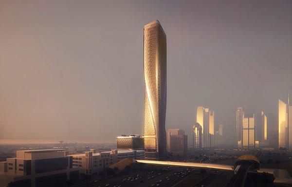 UNStudio_ Werner Sobek_Wasl_Tower Dubai_