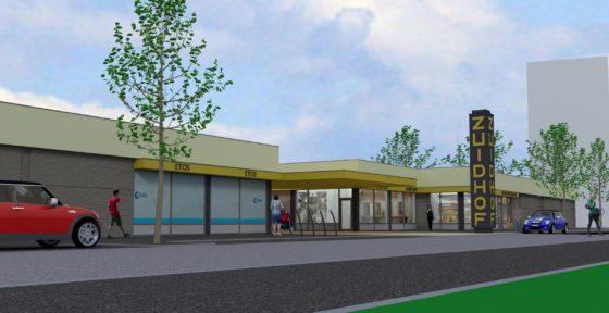 Upgrading winkel centrum zuidhof architectenbureau verbruggen6 560x288
