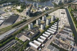 Monument voor de maakbaarheid: Bijlmerbajes wordt duurzame stadswijk