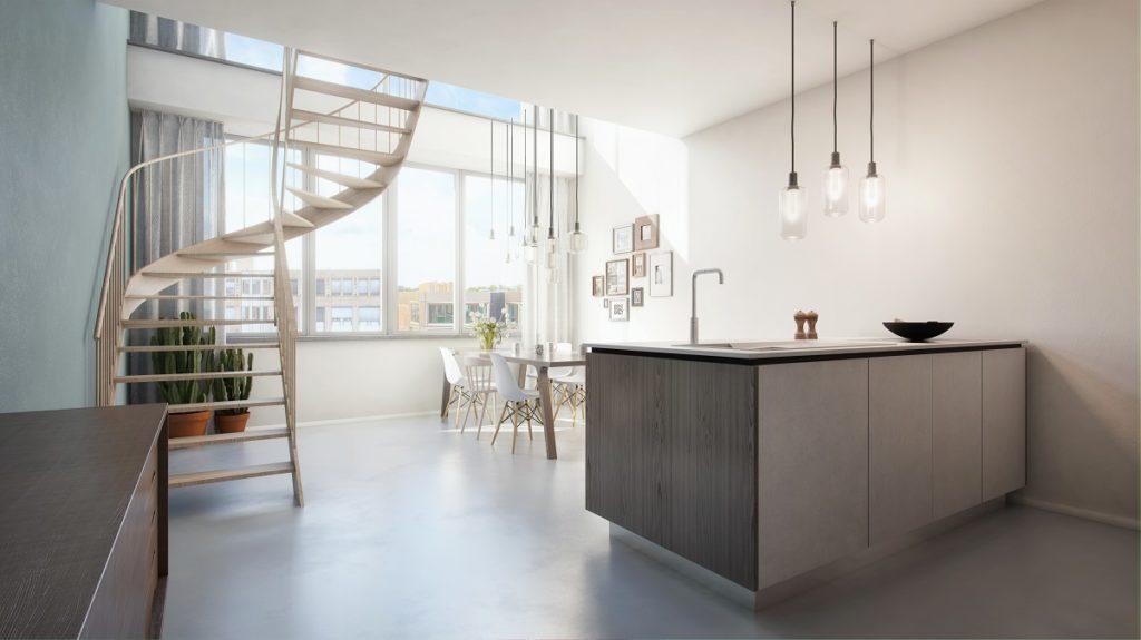 Lofts op stadhuisplein zoetermeer de architect - Kleine studio ontwikkeling ...