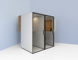 A private place within the open office