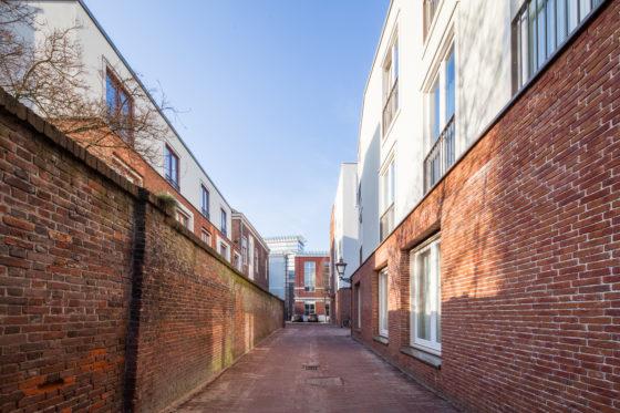 Studentenhuisvesting Langebrug Leiden door Mecanoo