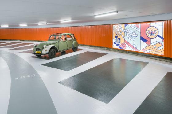 Parkeergarage-Lammermarkt door JHK Copyright-Ronald-Tilleman-Photography