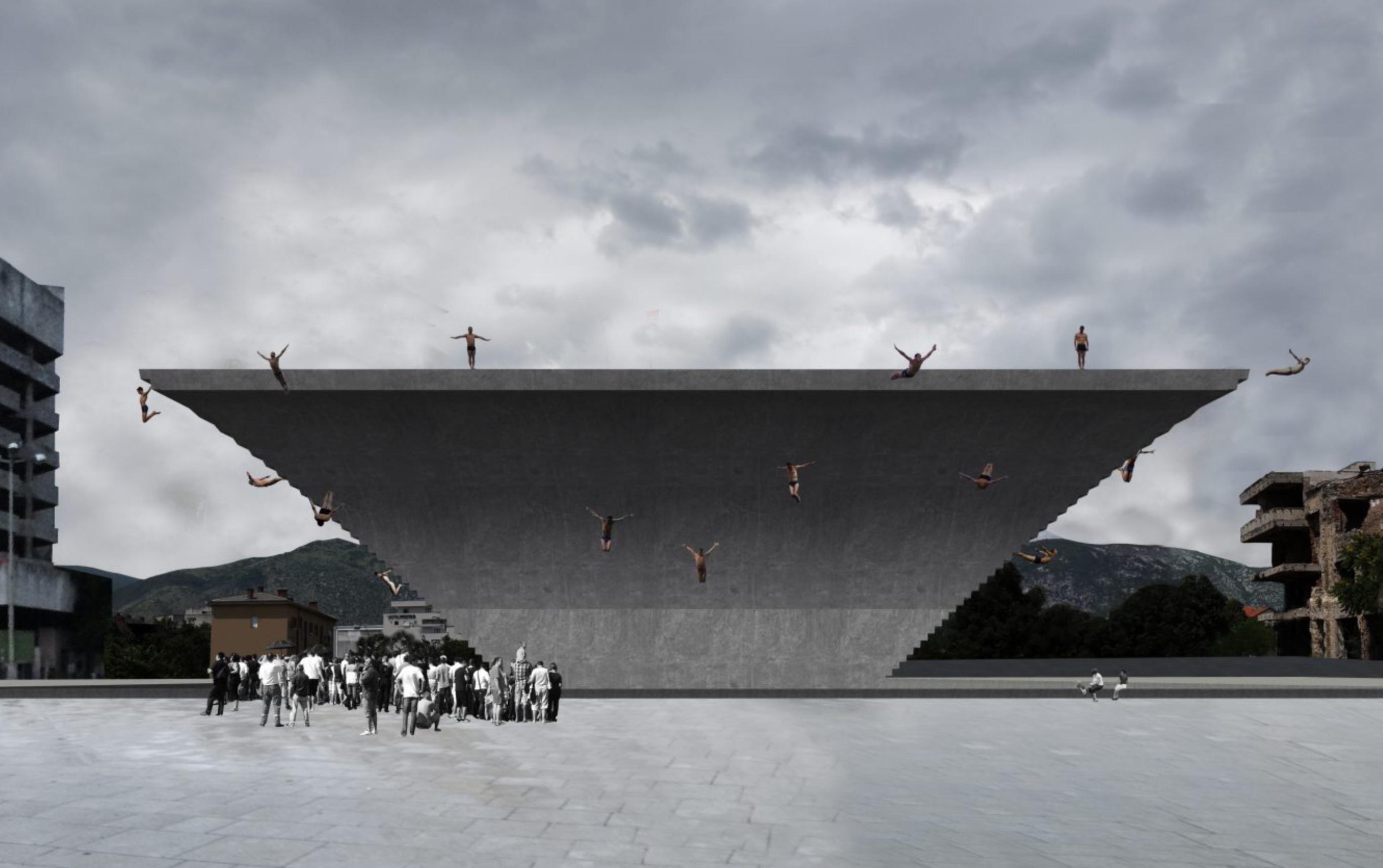 Jump is een voorbeeld van inclusieve architectuur door Arna Mačkić
