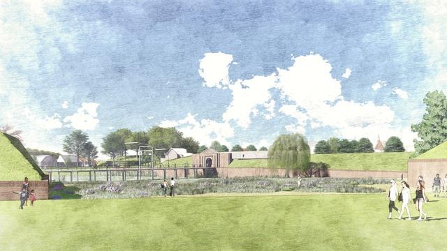 Stedebouwkundige visie van West8 voor vestingstadje Grave