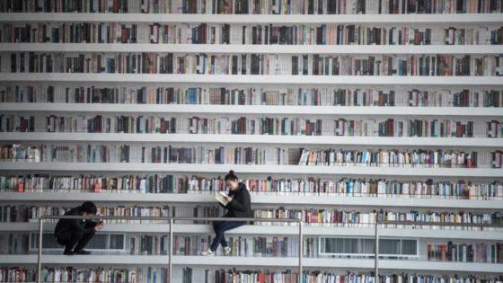 MVRDV_Bibliotheek Tianjin China