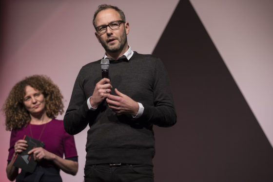 Reimar von Meding, (voorzitter ARC17 Jong Talent). Foto: Elvins Fotografie