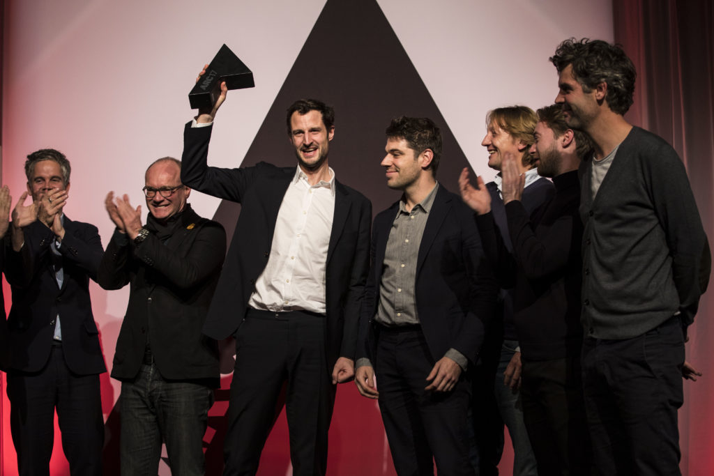 Space Entounters winnen de ARC17 Interieur Award. Foto Elvins Fotografie